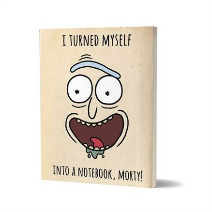 Shapeshifter Rick - Rick And Morty Official Notebook