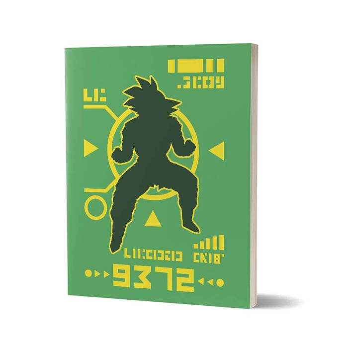 Saiyan Power Level Over 9000 - Notebook