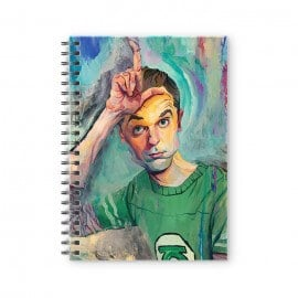 Sheldon: Loser - The Big Bang Theory Official Spiral Notebook