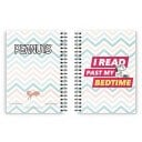 I Read Past My Bedtime - Peanuts Official Spiral Notebook