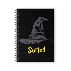 Sorted - Harry Potter Official Spiral Notebook