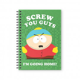 Screw You Guys, I'm Going Home - South Park Official Spiral Notebook