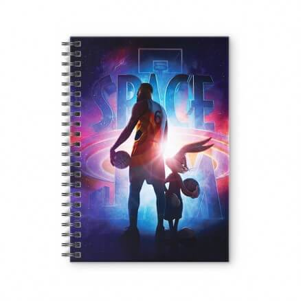 Space Jam: A New Legacy - Space Jam Official Spiral Notebook