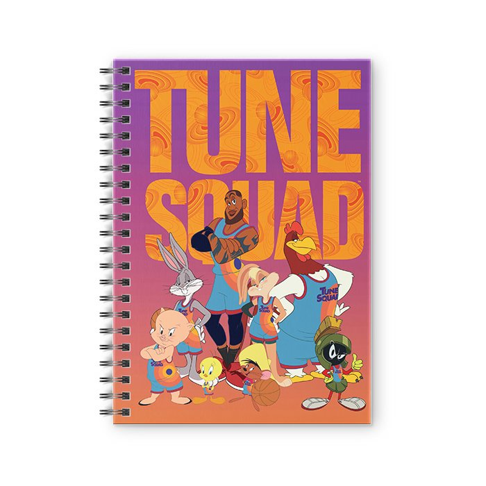 Tune Squad - Space Jam Official Spiral Notebook