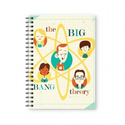 TBBT Caricature - The Big Bang Theory Official Spiral Notebook