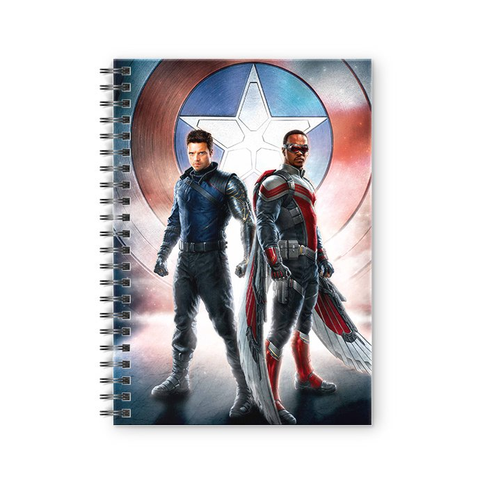The Falcon And The Winter Soldier - Marvel Official Spiral Notebook