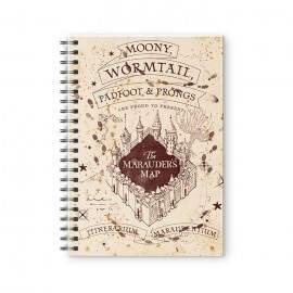 The Marauder's Map - Harry Potter Official Spiral Notebook