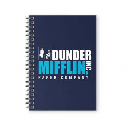 Dunder Mifflin - Spiral Notebook
