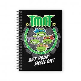 Get Your Shell On - TMNT Official Spiral Notebook