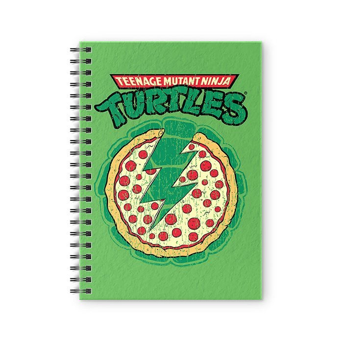 Pizza Power - TMNT Official Spiral Notebook