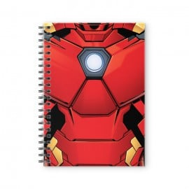 Iron Man Suit - Marvel Official Spiral Notebook