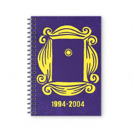 Yellow Frame - Friends Official Spiral Notebook