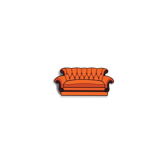 Central Perk Couch - Friends Official Pin