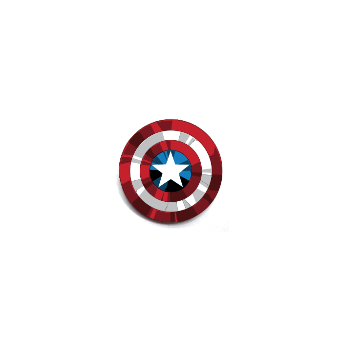 Captain America: Shield - Marvel Official Pin