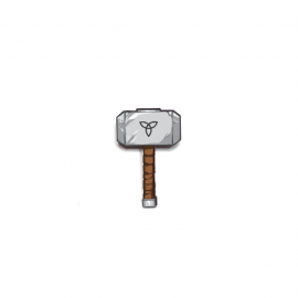 Mjolnir - Marvel Official Pin