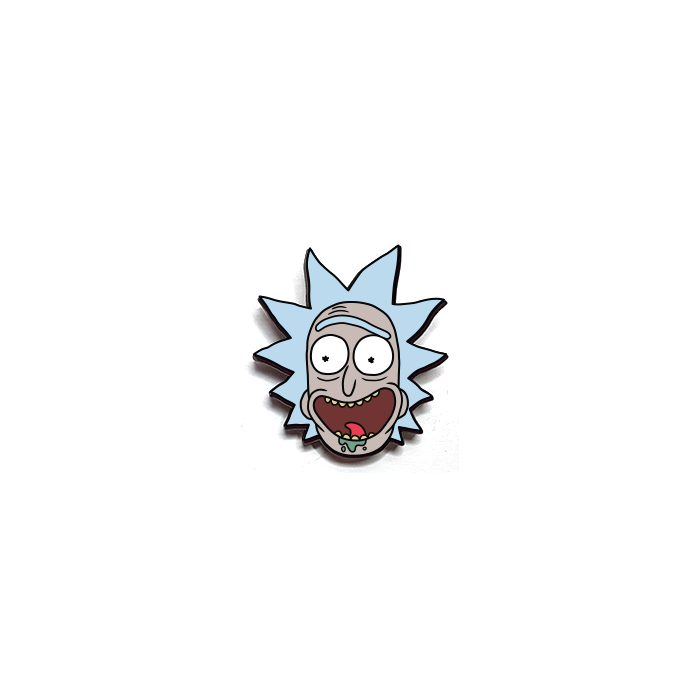 Rick Head - Rick And Morty Official Pin
