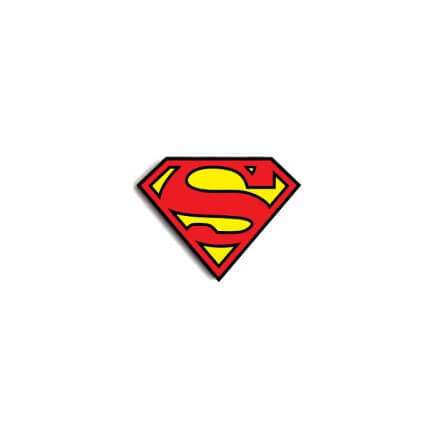 Superman Classic Logo - Superman Official Pin
