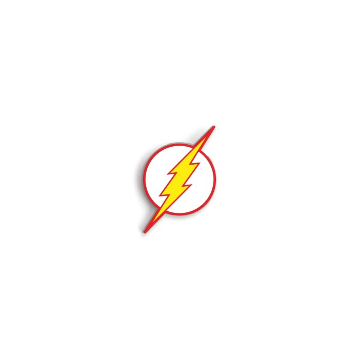 The Flash Classic Logo - The Flash Official Pin