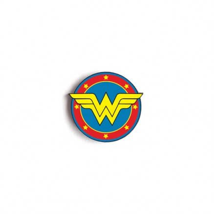 Wonder Woman Classic Logo - Wonder Woman Official Pin