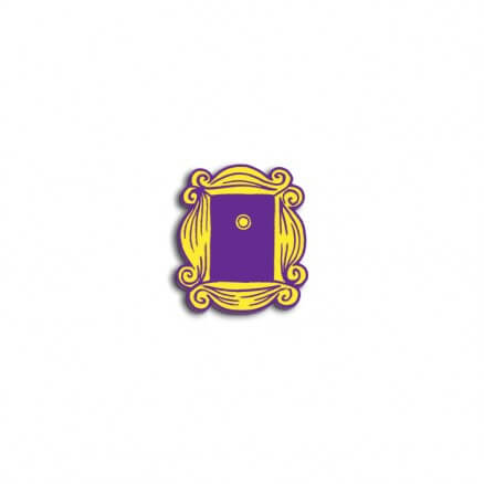 Yellow Frame - Friends Official Pin