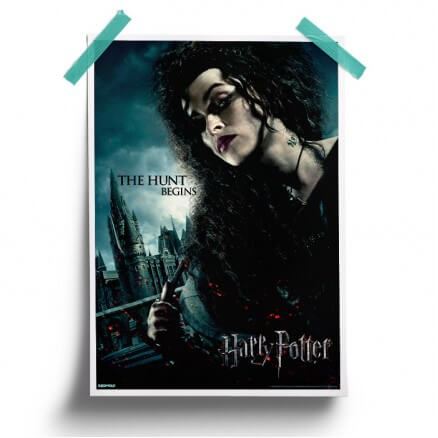 Bellatrix: The Hunt Begins - Harry Potter Official Poster