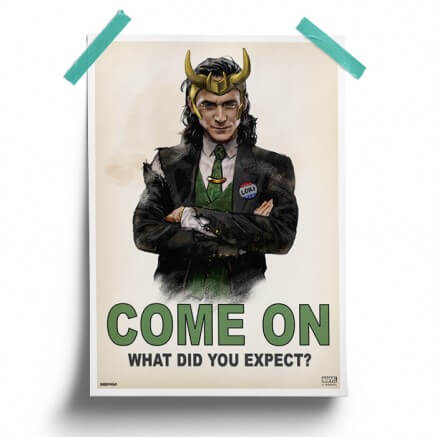 Loki: Come On - Marvel Official Poster
