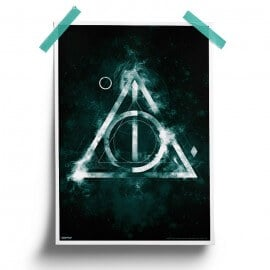 Deathly Hallows - Harry Potter Official Poster