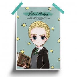 Draco Malfoy - Harry Potter Official Poster