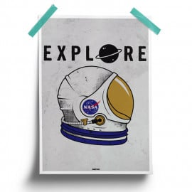 Explore - NASA Official Poster
