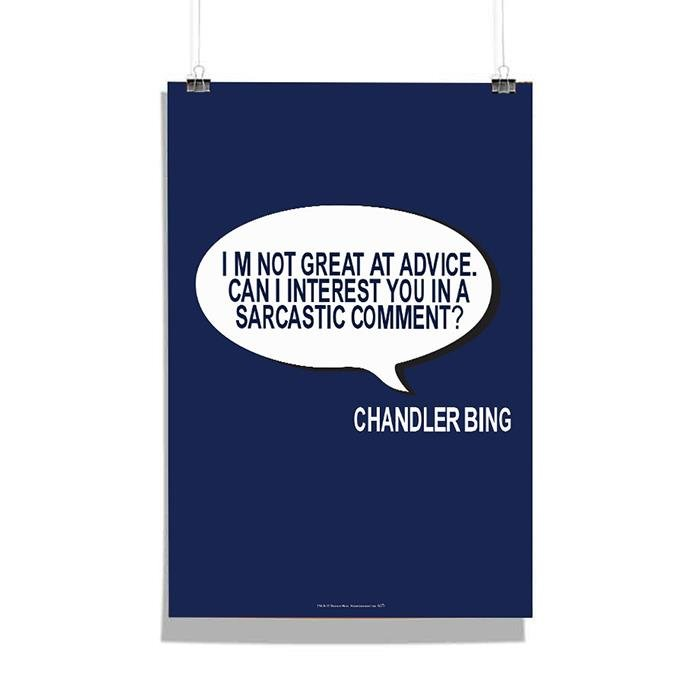 Friends: Chandler Bing Poster
