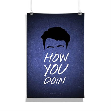 Friends: How You Doin' - Poster