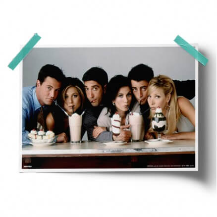 Friends: Milkshake - Friends Official Poster