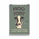 Friends: Moo Point - Poster