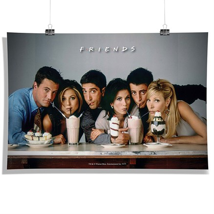Friends: Straw - Poster