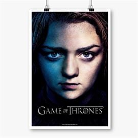 Arya Stark - Game Of Thrones Official Poster