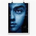 Arya Stark: Winter Is Here - Game Of Thrones Official Poster
