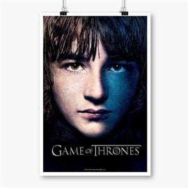 Bran Stak - Game Of Thrones Official Poster