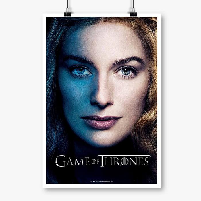 Cersei Lannister - Game Of Thrones Official Poster