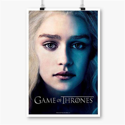Daenerys Targaryen - Game Of Thrones Official Poster