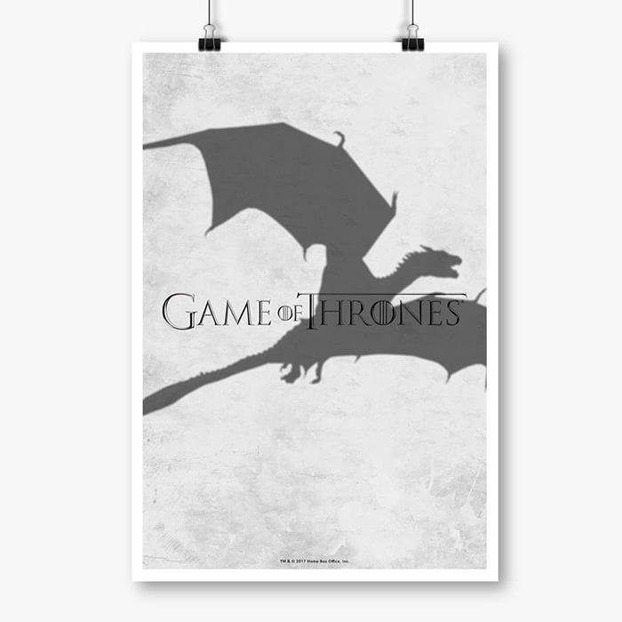 Dracarys - Game Of Thrones Official Poster