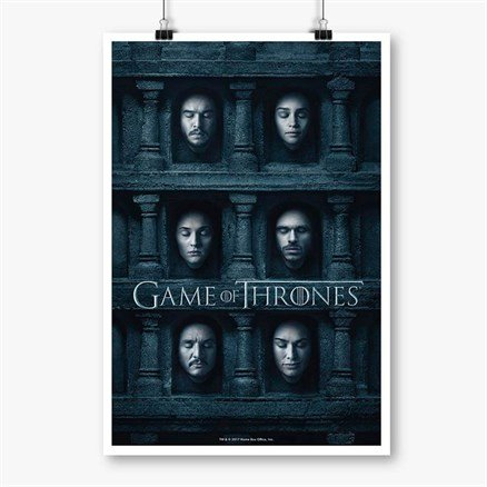 Hall Of Faces 1 - Game Of Thrones Official Poster