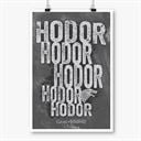 Hodor - Game Of Thrones Official Poster