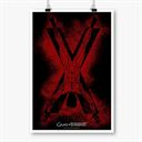 House Bolton Sigil Splatter - Game Of Thrones Official Poster