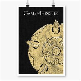 House Tyrell Sigil Design - Game Of Thrones Official Poster