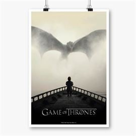 I Dream Of Dragons - Game Of Thrones Official Poster