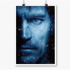 Jaime Lannister: Winter Is Here - Game Of Thrones Official Poster