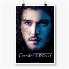 Jon Snow - Game Of Thrones Official Poster