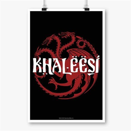 Khaleesi - Game Of Thrones Official Poster