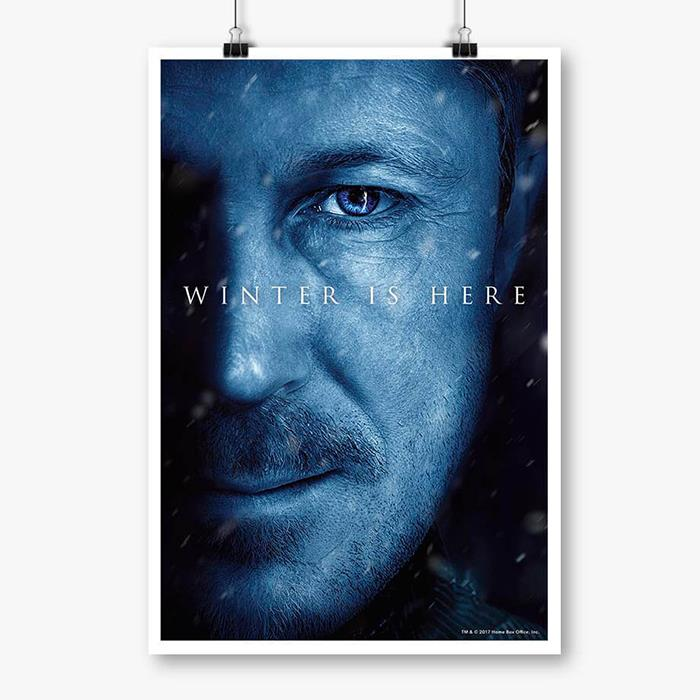 Littlefinger: Winter Is Here - Game Of Thrones Official Poster