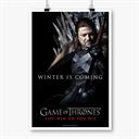 Ned Stark: Winter Is Coming - Game Of Thrones Official Poster